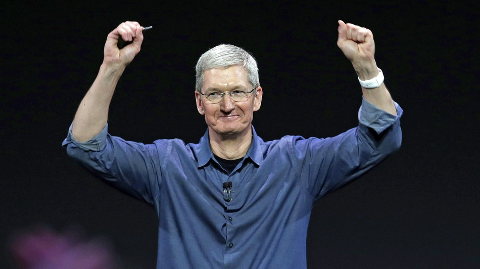 tim cook donated fortune